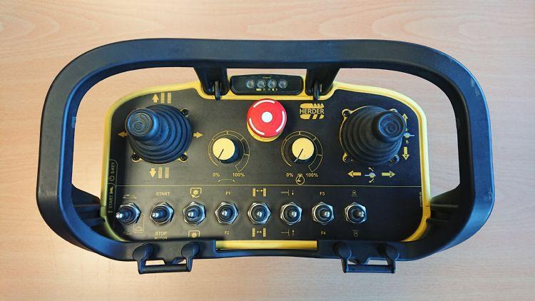 Herder-Fermex SCT-550H afstandsbediening