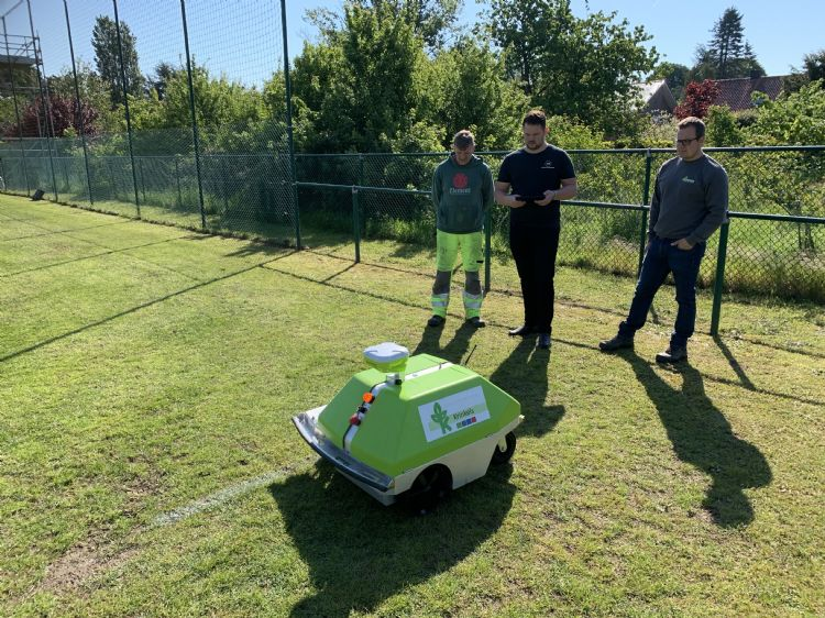 Intelligent One, robotbelijner