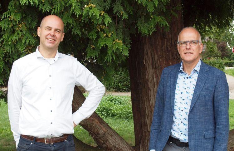 Nieuwe directie M. van den Oever Arie Idema en Jeroen van den Oever