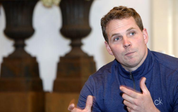 Rick Veenen: 'Ik ben geen hovenier geworden om op kantoor te zitten.'