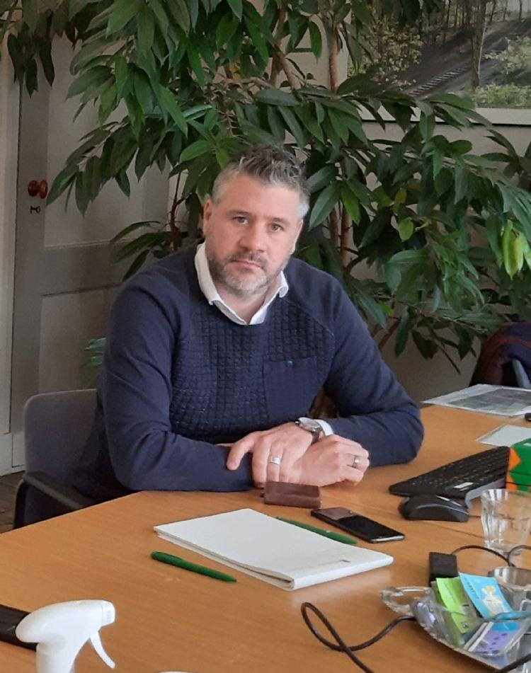 Ivo Stevens: 'We hebben 130 toezichthouders achter de ramen zitten. Feitelijk is het hun plan dat ten uitvoer wordt gebracht. De bomen moeten dus goed beschermd worden.'