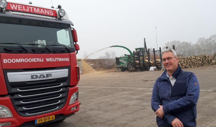 Kees Weijtmans, Boomrooier in Udenhout