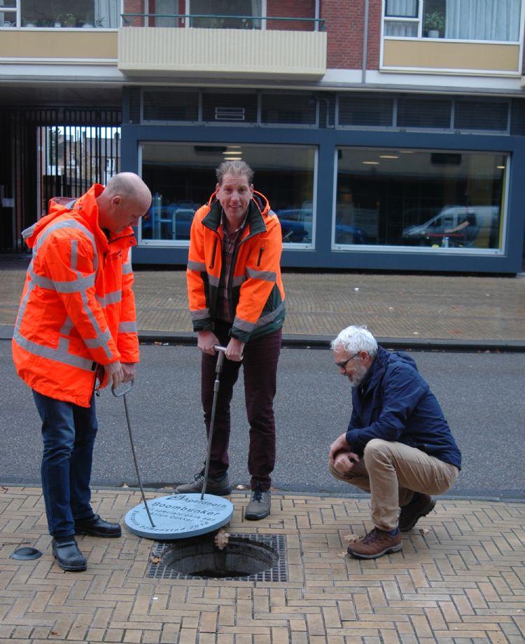 V.l.n.r: Tom Putman, Peter Huis in't Veld en Anton Dekker