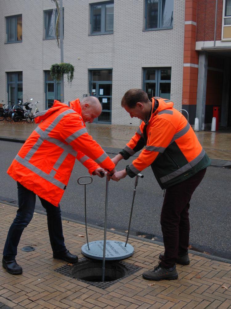 Inspectieput maakt bodemmonsters nemen gemakkelijk