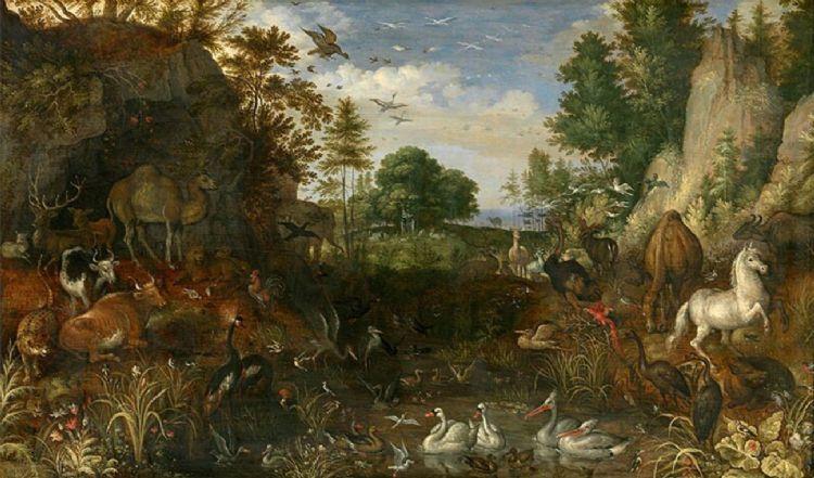 Roelant Savery. Het aards paradijs 1625