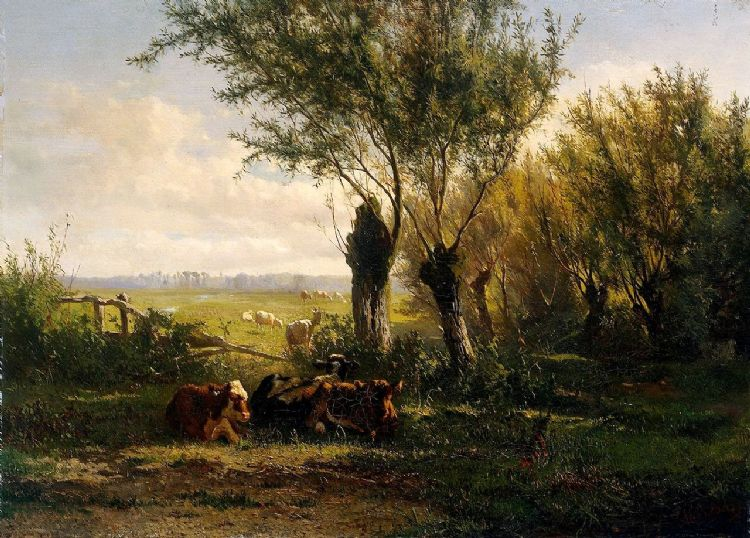 Gerard Bilders. Weiland bij Oosterbeek 1860