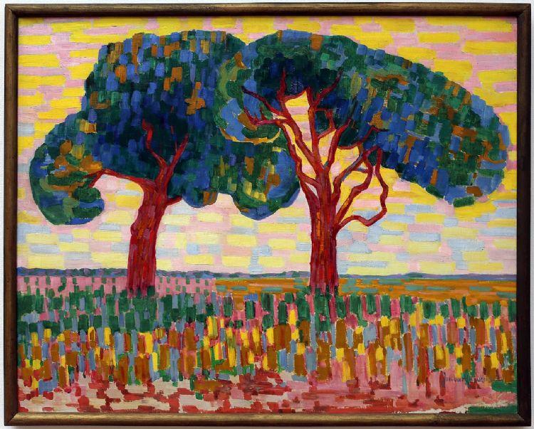 Jacoba van Heemskerck. Twee bomen 1908