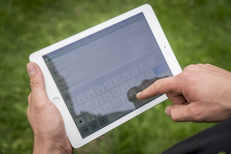 Werkwijze® op tablet