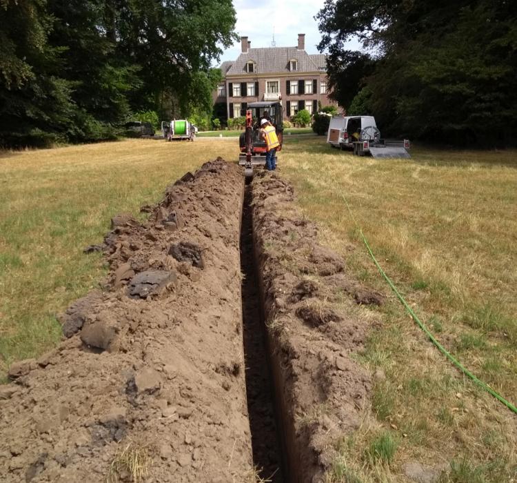 Graaf werkzaamheden graven grondroeren