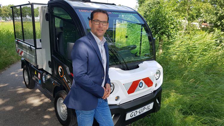 Martijn Beekwilder, commercieel manager bij Van Blitterswijk Eco-Mobiliteit