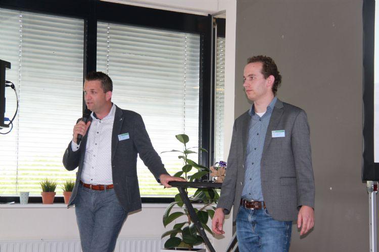 Jacob Muilwijk en Pieter Verloop openen de avond met hun deelsessie: 'Zonder SMART/IoT data is er geen professioneel beheer/assetmanagement?