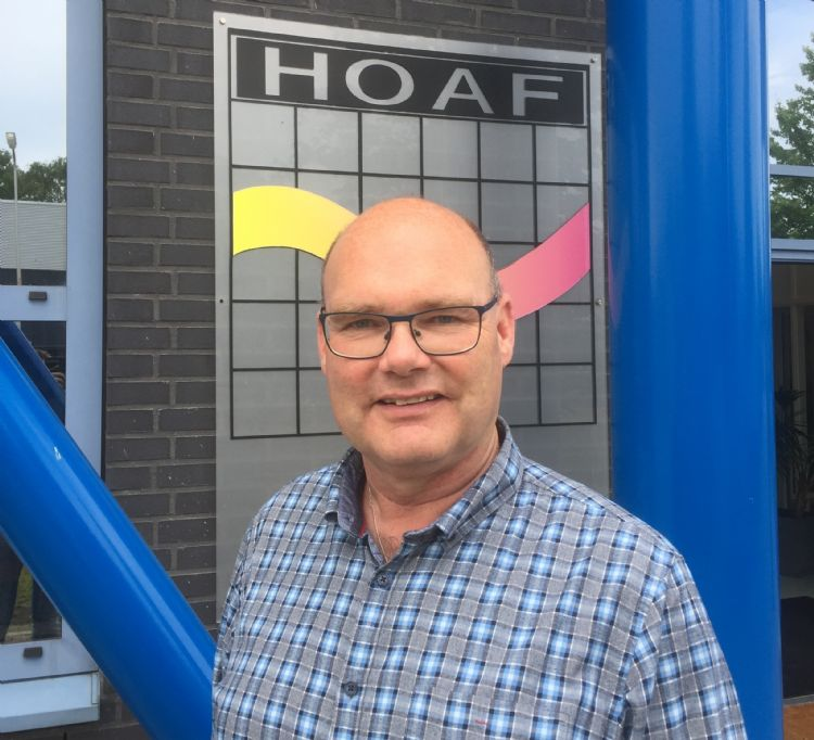 Menno Looman, accountmanager bij Hoaf Infrared Technology in Oldenzaal (Ov)