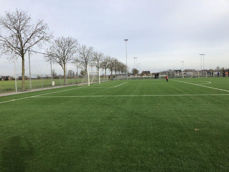 Foto van een non-infill veld in Noord-Brabant