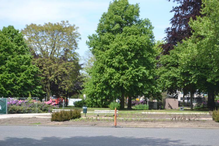 Openbaar groen in Nijmegen.
