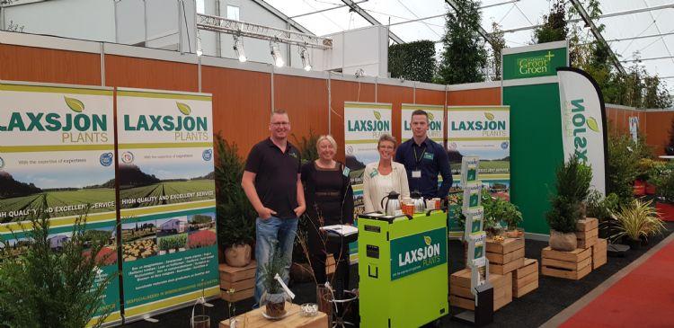 Laxsjon op Beurs Grootgroenplus 2019