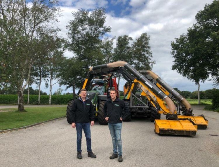 Links Bernard van Regteren, rechts Herbert van Regteren