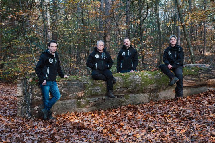 De vier maniakken en oprichters van Treemania