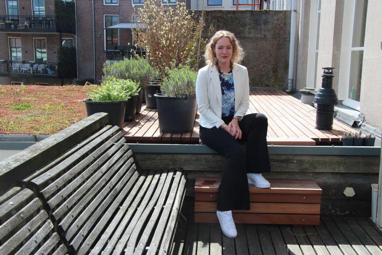 Daisy van Boven is met haar 23 jaar de jongste Tree Technician van Nederland
