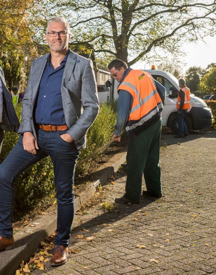 Goof Rijndorp, eigenaar van Bras Fijnaart. Foto: Bras Fijnaart