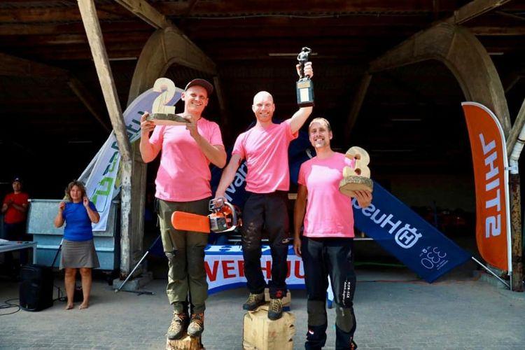 Winnaars NKB Masters 2021: Jotte (1e), Harrie (2e) en Jeroen (3e). Foto: KPB-ISA